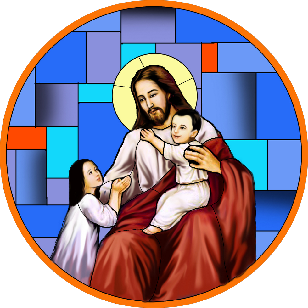 主耶稣爱小孩.图片